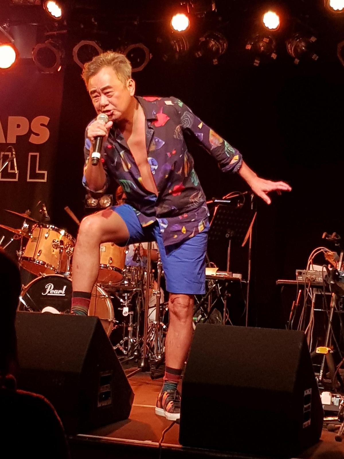 陳昇的日本巡迴演唱會歷經北海道、東京,雖然唱的不是日文歌,但陳昇的舞台魅力沒有國界。(新樂園製作提供)