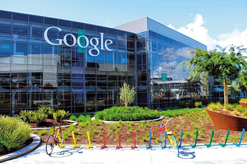 遠雄洽商的新團隊積極接觸Google等網通產業進駐大巨蛋園區。(翻攝google)