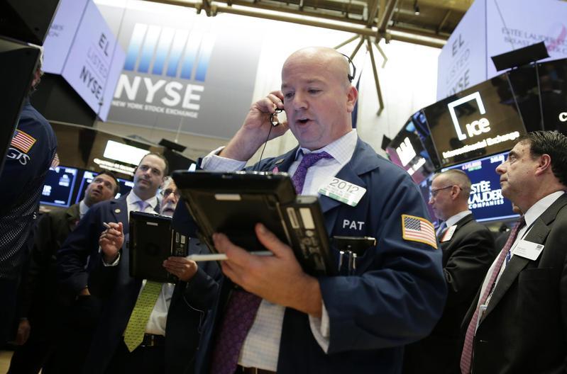 美股道瓊工業指數一度大跌近700點,收盤下跌545.91點,短短2天累積暴跌近1,400點。(東方IC)