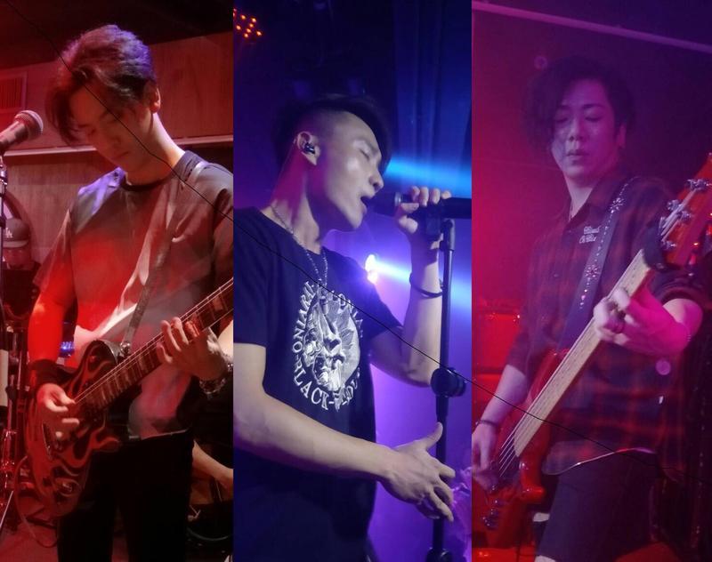 前東城衛團長修與主唱介重組「赤世代」後首度在香港演出,已經7年未以團隊身分踏入香港,這次帶著新歌與歌迷見面。(赤世代提供)