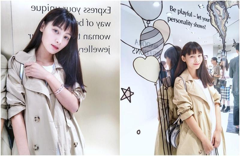 新生代藝人常立琳受丹麥珠寶品牌潘朵拉「PANDORA」之邀,出席新品概念發表記者會,她也是品牌忠實粉絲。(常立琳提供)