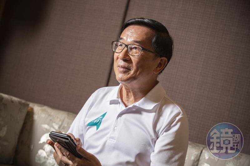 前總統陳水扁今(11日)早透過臉書〈陳水扁新勇哥物語〉發文,點評總統蔡英文國慶演說內容。