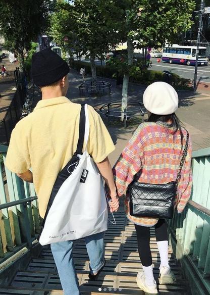 泫雅近日和男友E'Dawn在日本遊玩,在IG曬出許多恩愛照。(翻攝自泫雅IG)