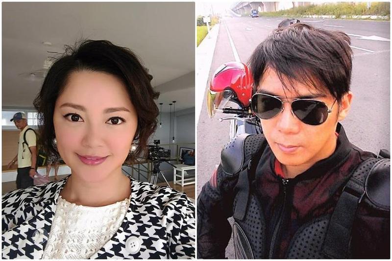 陳子強與傅天穎離婚5年,兒子「小天子」扶養權歸女方。(右圖翻攝陳子強臉書、左圖翻攝傅天穎臉書)