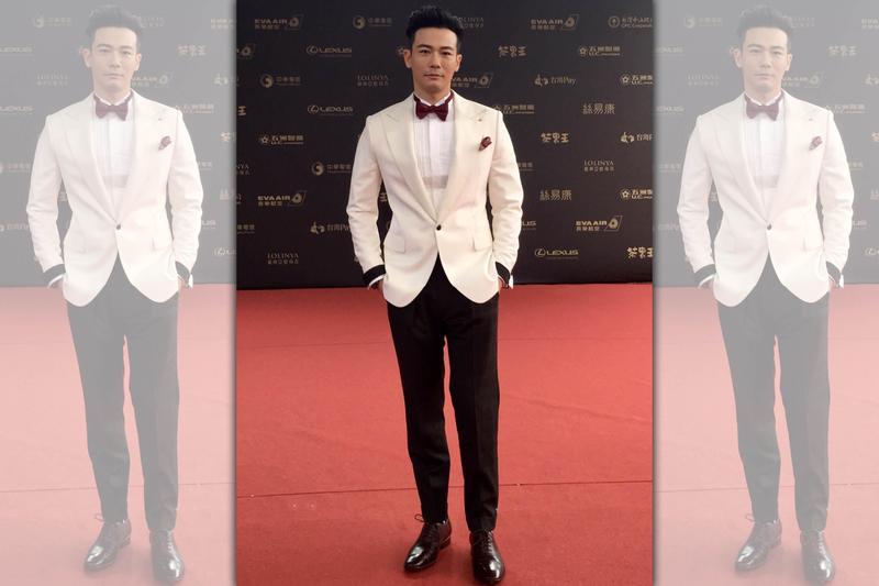 劉傑中主持今年金鐘獎紅毯,流利的口條讓他贏得「零負評主持人」美名。(艾迪昇提供)