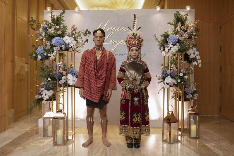 馬志翔和盧悦婷交往近4年。今年3月,他先以女方魯凱族傳統儀式求婚成功。(影一提供)