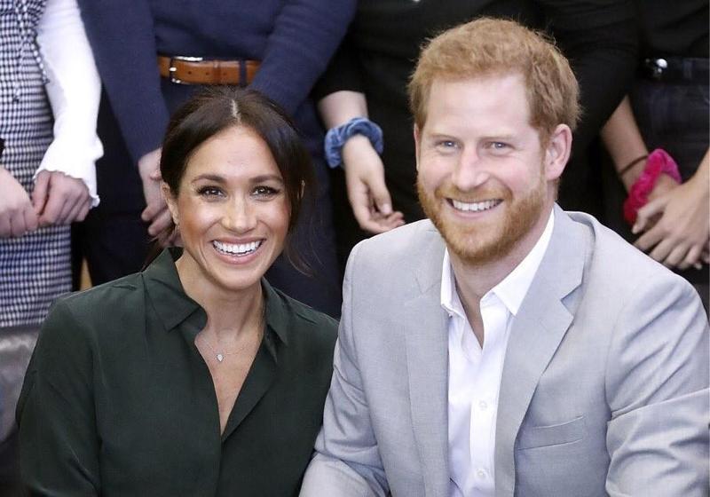 哈利王子夫婦將於明年春天迎來第一個孩子。(Twitter:Kensington Palace)