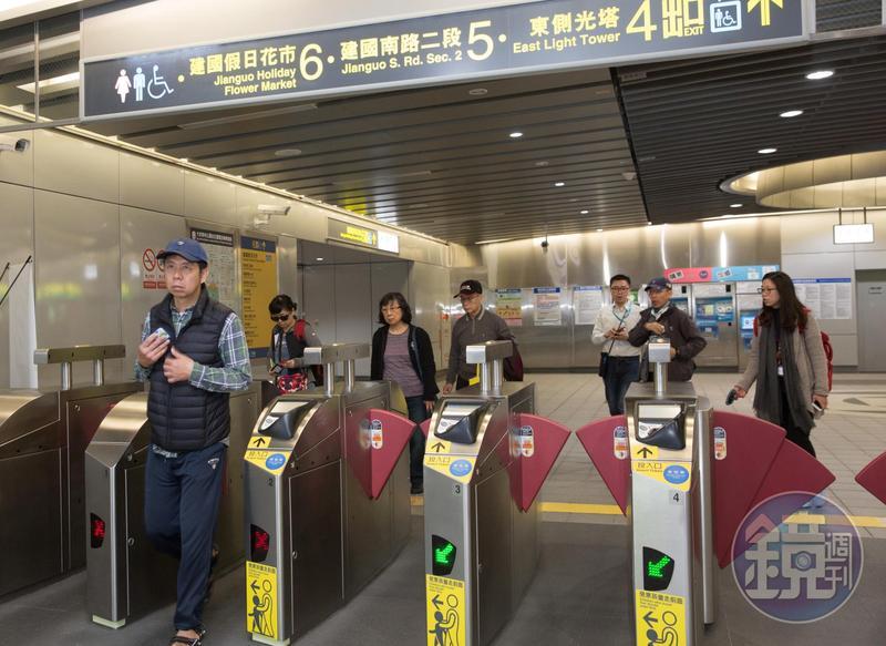 明年若捷運日運量成長未達3%,1280元定期票恐喊卡。