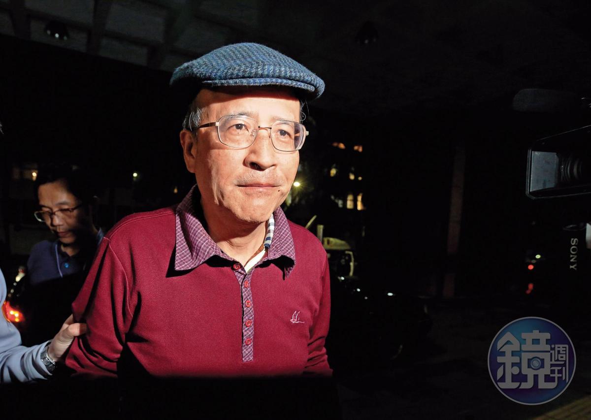 中投前總經理汪海清(圖)為自保,用錄音筆錄下開會討論過程,成為起訴馬英九鐵證。