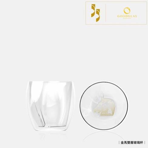 今年金馬55的周邊商品豐富,和台灣「好玻」合作推出金馬雙層玻璃杯。(翻攝自金馬影展 TGHFF臉書)