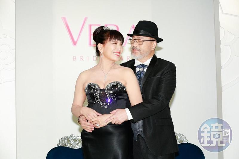 班鐵翔(右)人生閲歷豐富,有很多夫妻相處之道可分享。