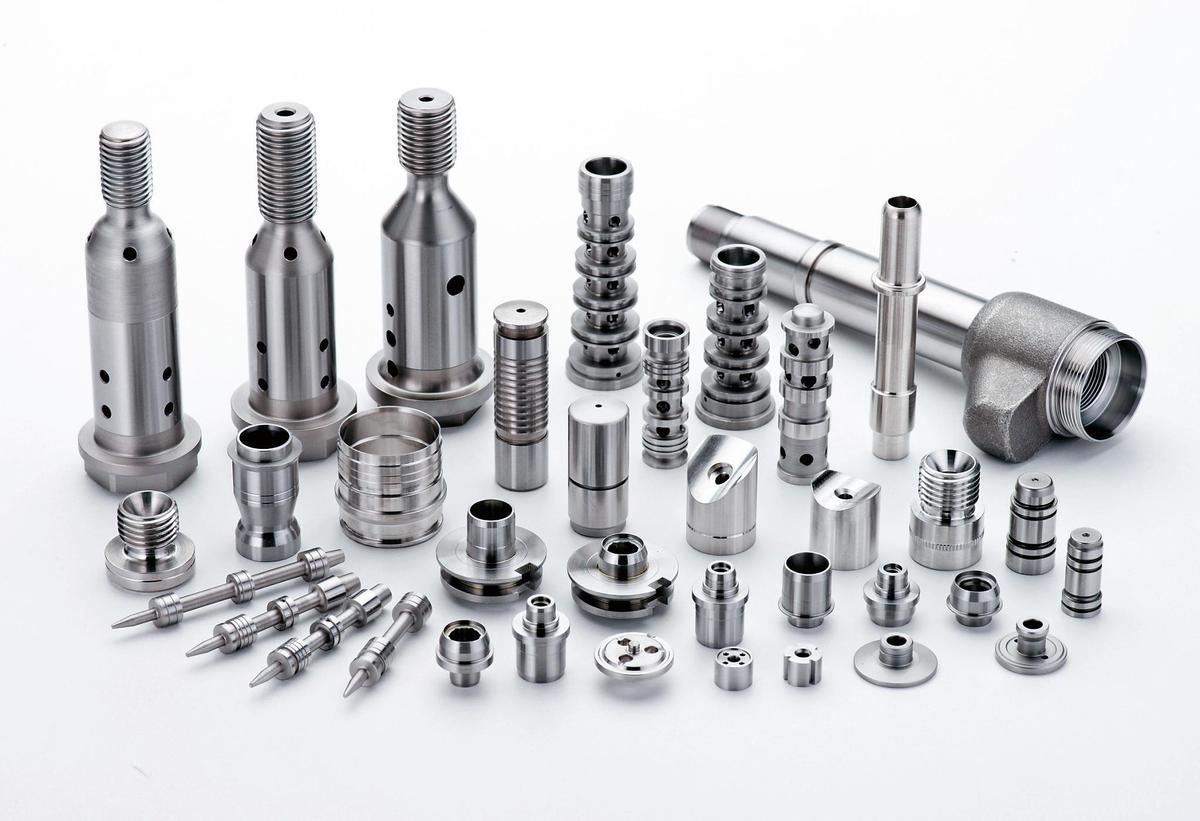 宇隆生產零件供應全球汽車電子大廠BOSCH、Borg Warner等客戶。(宇隆提供)