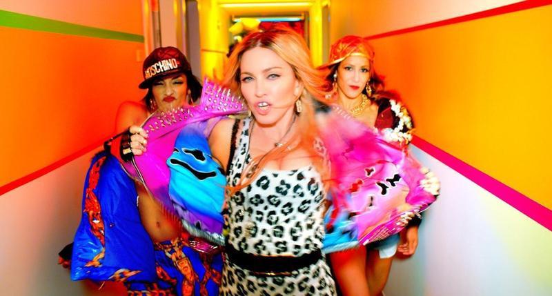 丹尼塔爾擔任瑪丹娜《Bitch I'm Madonna》的MV剪輯師。(翻攝自madonna.com)