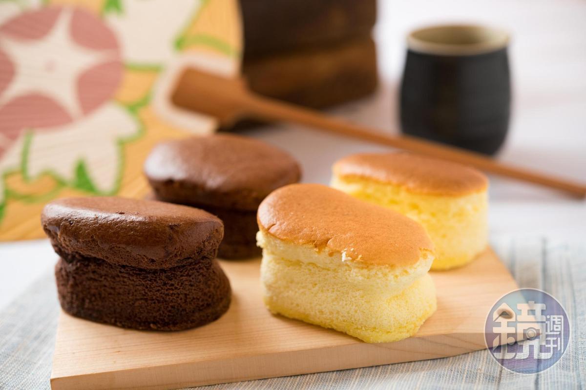 「小乳酪」是迷你版的起司蛋糕,乳香濃郁不膩口。(20元/顆)