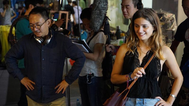 何蔚庭(左)自編自導的新片《幸福城市》由跨國班底完成。  (牽猴子整合行銷提供)