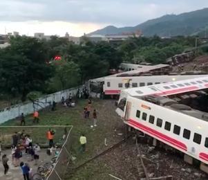普悠瑪今發生嚴重事故,已知17死126傷。(翻攝自花蓮人社團)