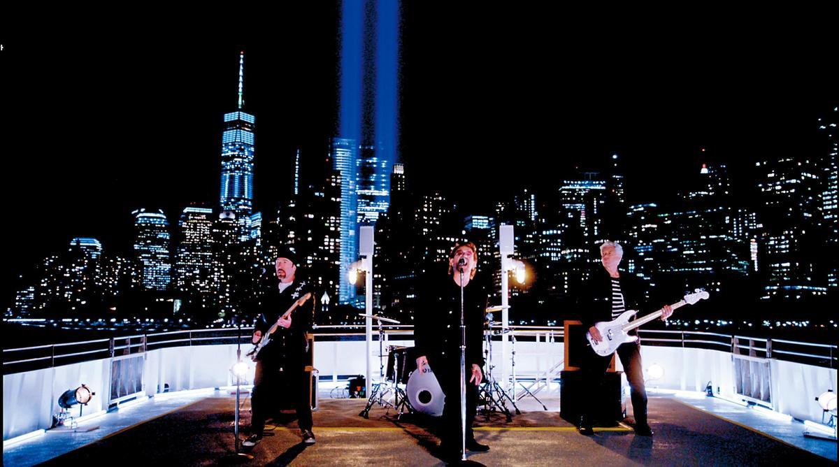 英國搖滾樂團U2的單曲MV〈You're The Best Thing About Me〉亦由丹尼擔任剪輯師。(丹尼塔爾提供)