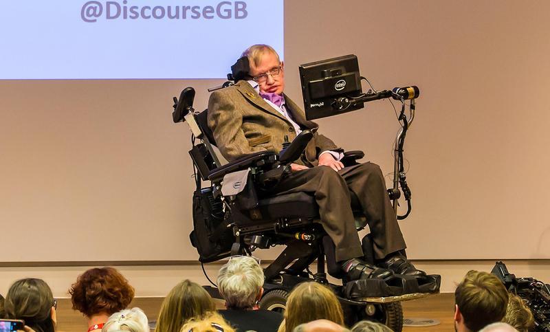 英國著名物理學家史蒂芬‧霍金的遺物,本月底將進行拍賣。(東方IC)