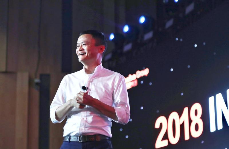 阿里巴巴創辦人馬雲日前雖喊出要退休,但淘寶重新布局台灣市場的腳步並未延遲。(東方IC)