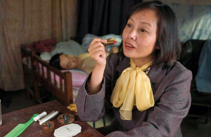 蔣雯麗為了演出電影《立春》,刻意增重15公斤。(圖/epochtimes.com)