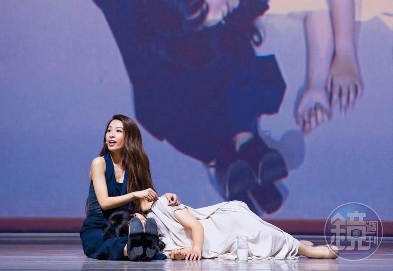 Hebe田馥甄演出12場音樂舞台劇《小夜曲》,劇本卻被質疑參考吉本芭娜娜作品。(本刊資料照)