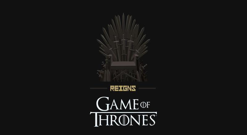 知名卡牌遊戲《王權》和冰與火之歌合作(圖片來源:官網)