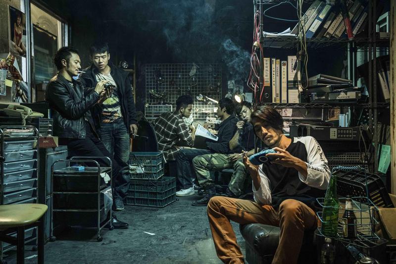 電影《狂徒》由台灣新銳導演洪子烜執導,結合幫派、打鬥等元素,該片日前在高雄電影節播映,獲得滿堂彩。(貴金影業提供)