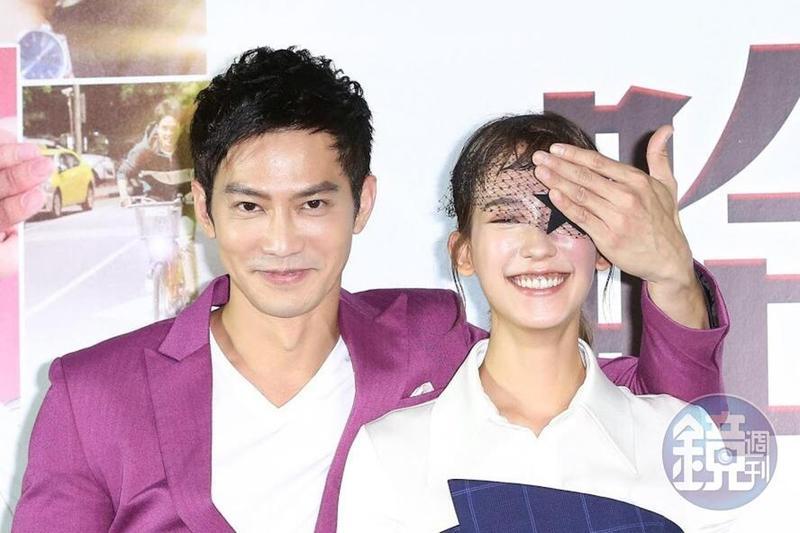 鄒承恩在電影裡喜歡孟耿如,戲外兩人交情也不錯。