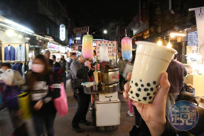 紅到海外的珍珠奶茶,就是台灣特有的QQ口感的最佳代表。