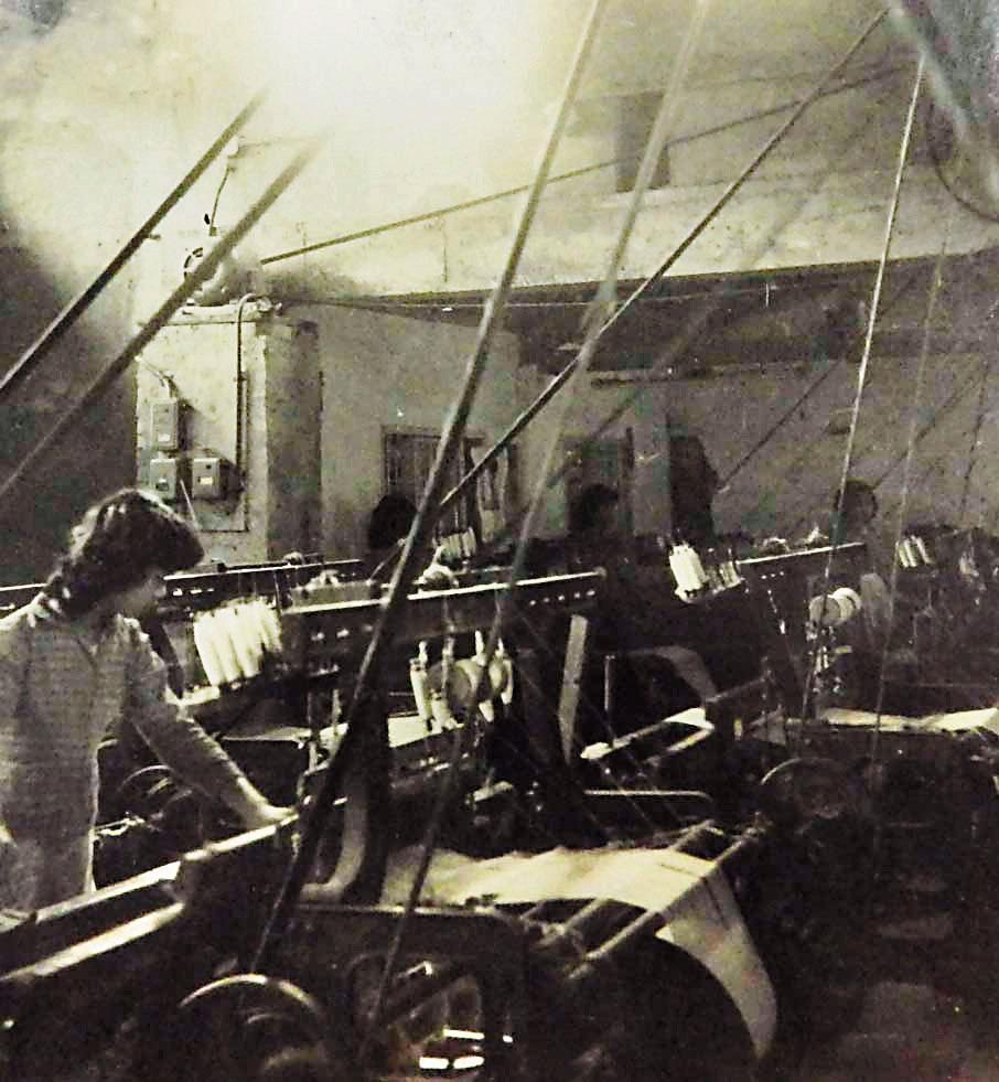 中衛全盛時期,曾有1千4百多台紗布織布機,紗布外銷到68個國家。