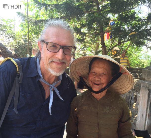 主廚到越南學習咖啡園的相關知識。(Antonio Tommasi提供)