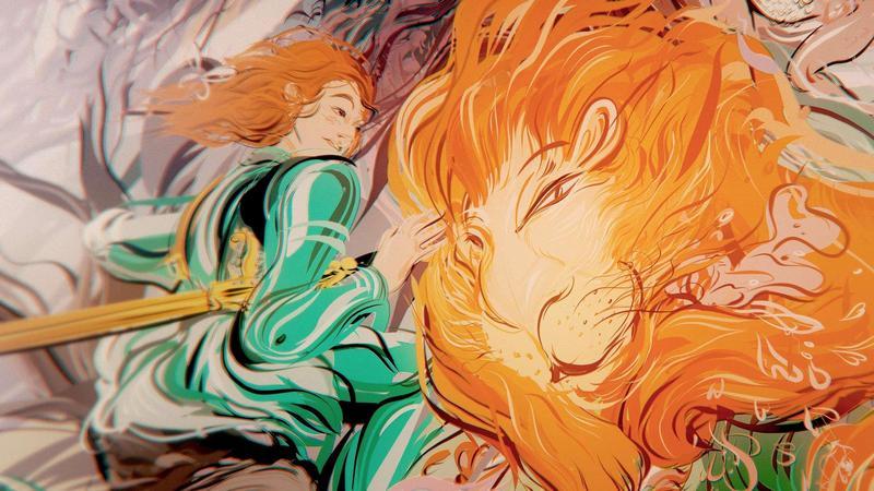 《親愛的安潔麗卡》由艾美獎得獎團隊打造,其畫面與特效呈現被國際媒體譽為最美的VR作品。(高雄電影節提供)
