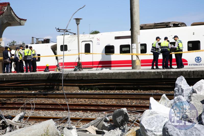 吳宏謀表示,已經特別提醒台鐵,應全力協助行政院調查小組跟檢調調查。