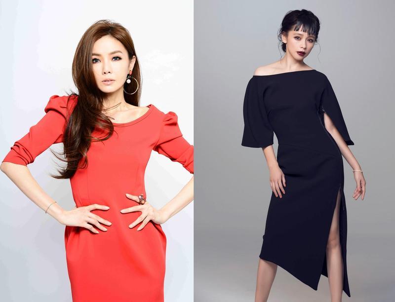 許久未拍電影的兩位女神:謝金燕與徐若瑄今年都回歸電影咖,擔任金馬頒獎人。(金馬執委會提供)