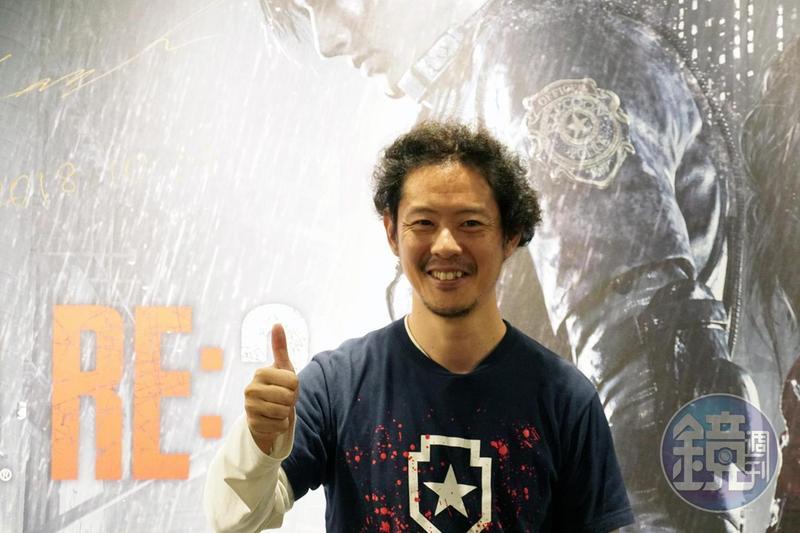 《惡靈古堡2重製版》製作人神田剛來台與媒體座談,分享重製這部經典作品的想法。