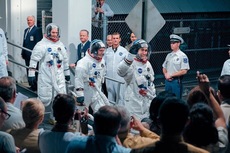登陸月球的故事世人已聽太多,《登月先鋒》雖用阿姆斯壯面臨一連串挑戰打擊勾勒他的登月旅程,但觀眾期待的還是登月那一剎那。(UIP提供)