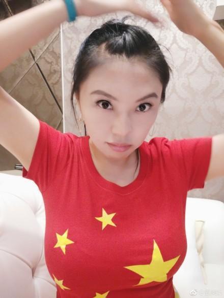 近日轉往中國大陸發展的女星劉樂妍,經常在網路上po偏激言論及看法,被網友戲稱「女版黃安」。(翻攝自劉樂妍微博)
