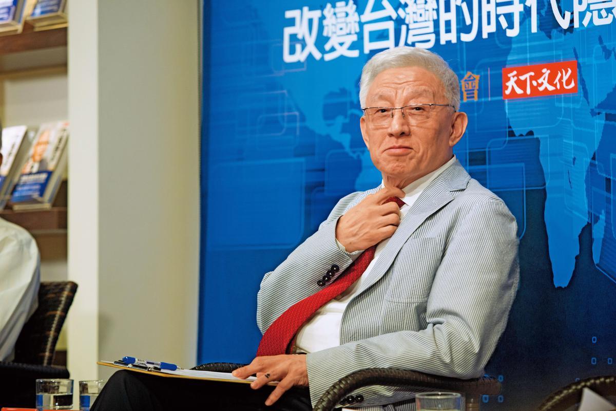 聯電榮譽董事長曹興誠因和艦案已淡出經營。(今周刊提供)