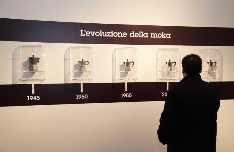 義大利摩卡壺大廠Bialetti不敵自動化咖啡機的威脅,銷售狀況不佳,公司面臨破產。(東方IC)