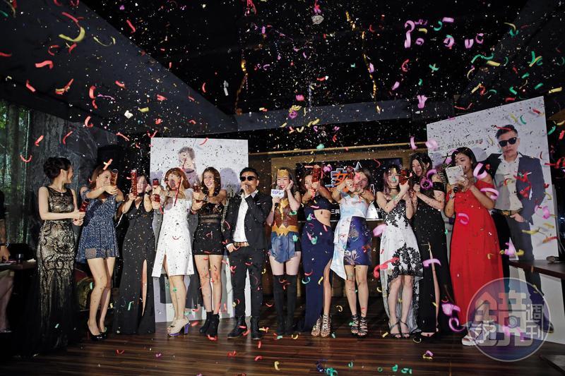 Uplive自製的直播節目《女神情爆局》去年開播,除邀請時下話題女星上節目,更強打平台主播累積知名度。