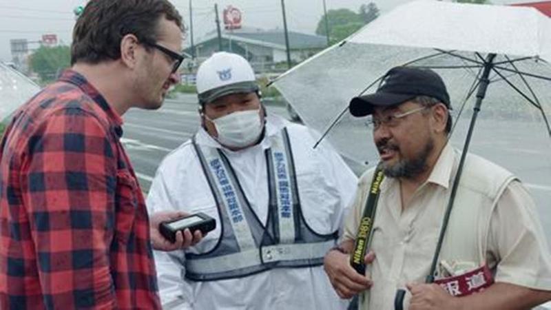 網路紀實節目《黑色旅人》(Dark Tourist)造訪福島。福島人認為,該節目誇張了福島身為核災區的負面印象。(翻攝自「Real Fukushima」旅行團官網)