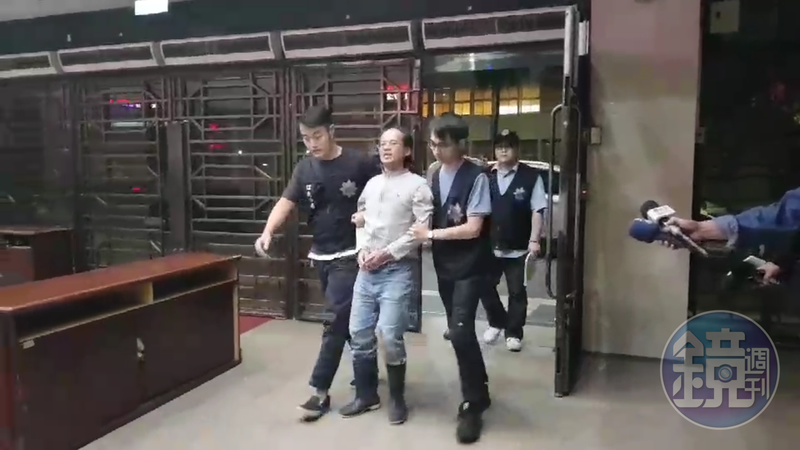 男子李明彥闖北市府打傷勞動局長,遭裁定收押避免再犯。