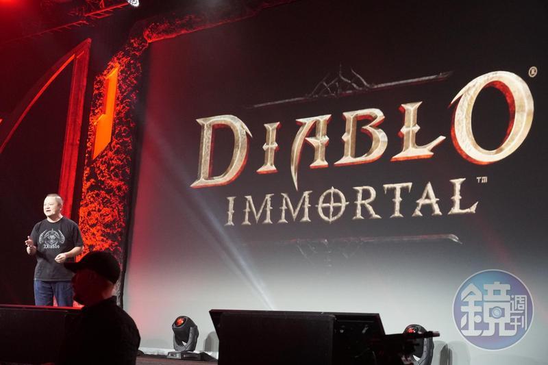 暴雪在Blizzcon上公布《暗黑破壞神》將推出手機版本「永生不朽」(Diablo Immortal)。