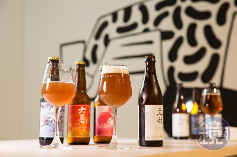 啤酒頭的每一款酒,至少使用1項台灣原物料,用濃濃台味訴說台灣在地與精釀啤酒結合的故事。