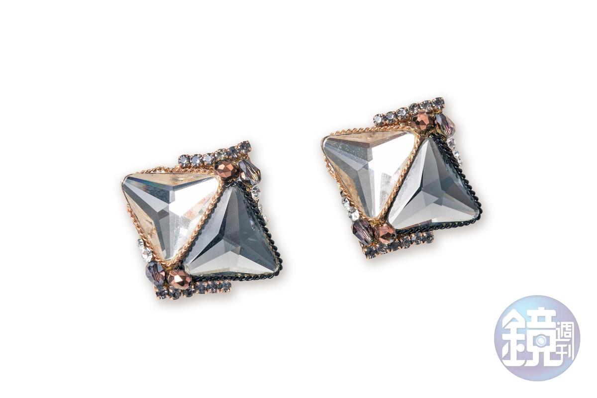 泰國買的耳環,約NT$800。