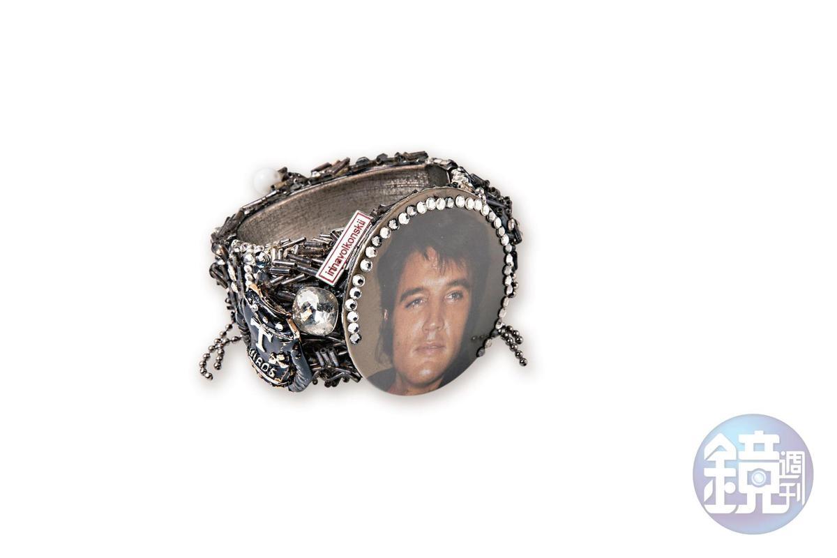 選品店買的貓王手環,約NT$15,000。