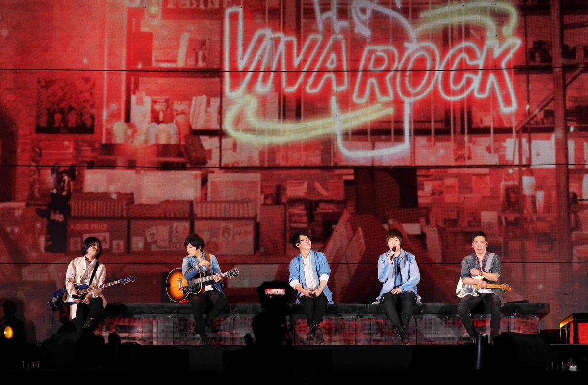 五月天大阪演唱會定調為「回歸原點」的精神,與全世界跑了兩年的《人生無限公司》演唱會有所區隔。(相信音樂提供)