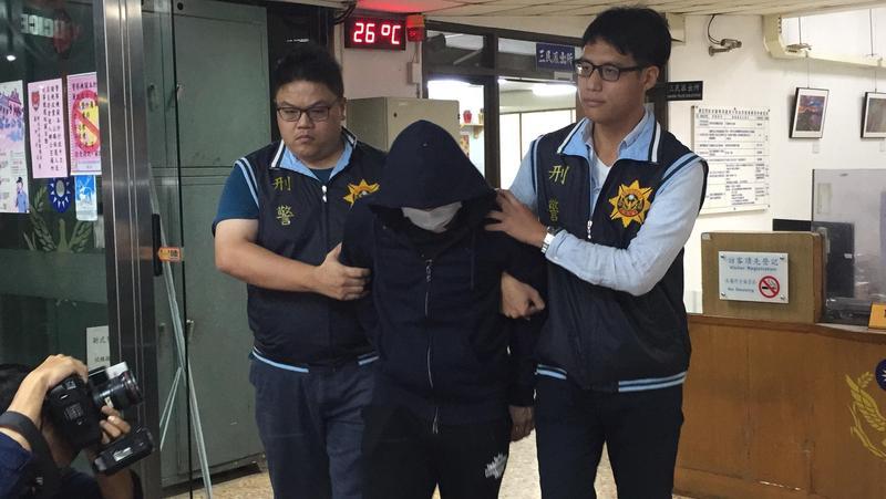 警方鎖定陳姓犯嫌,依槍砲等罪嫌移送。(翻攝畫面)