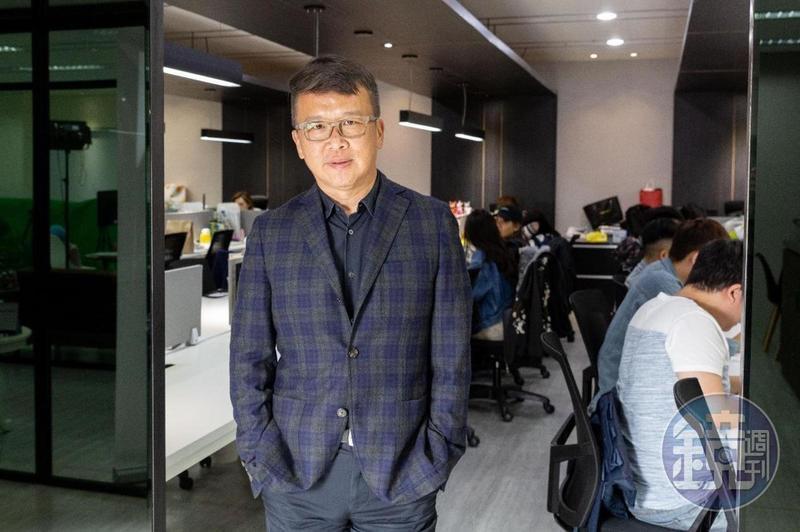 Uplive直播執行長葉冠義領軍台灣團隊,從本土進軍國際市場。