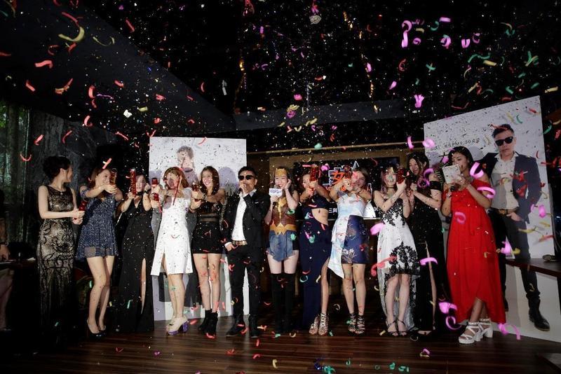 Uplive自製的直播節目《女神情爆局》去年開播,除邀請時下話題女星上節目,更強打平台主播累積知名度。(Uplive提供)